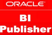 Oracle BI Publisher Training